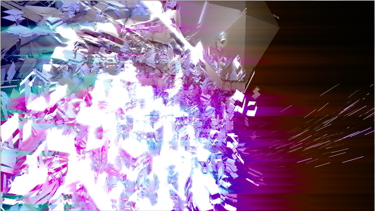 abstracts Material sound-LINK test02 : flock