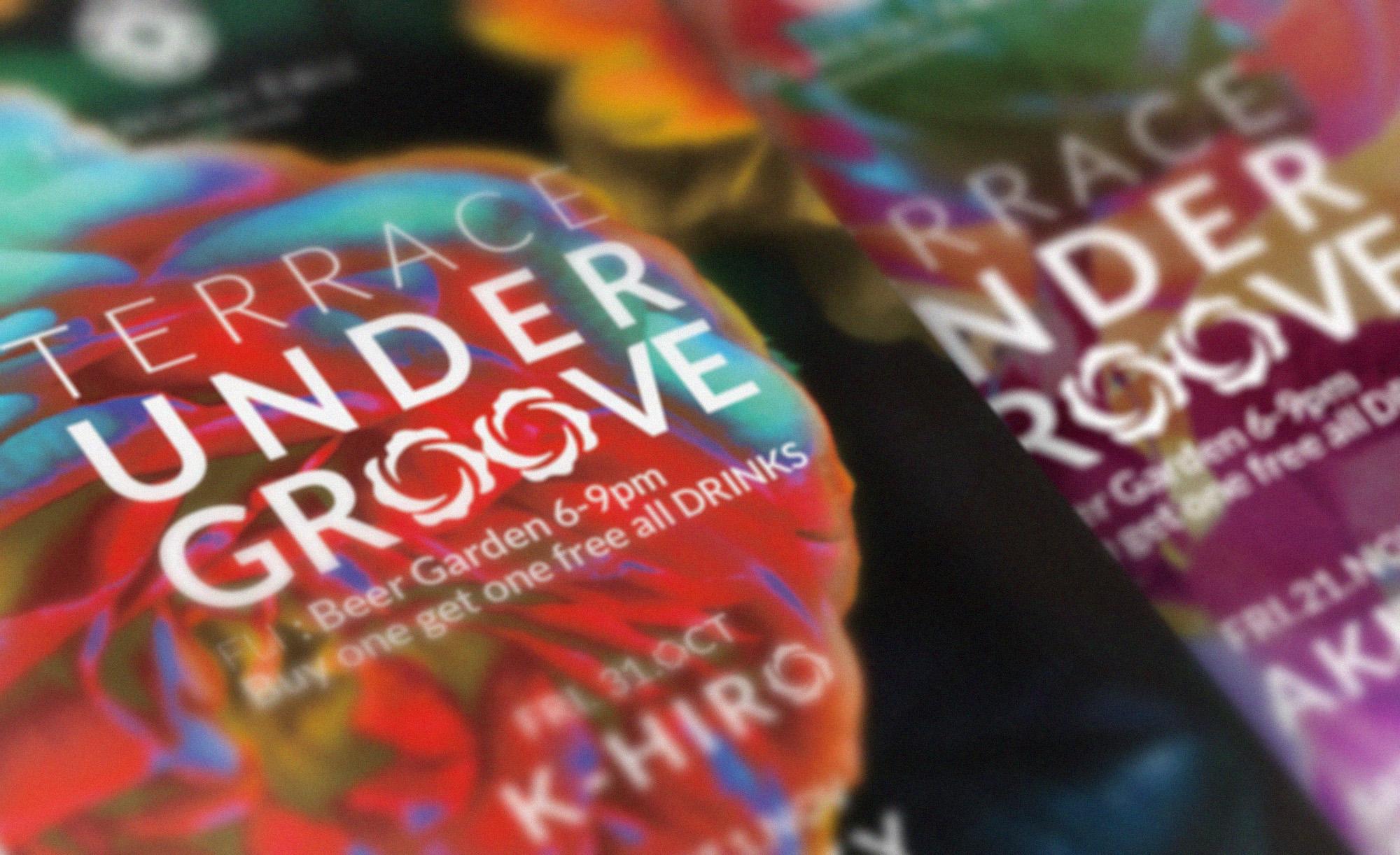 Shanghai Rose : Under Groove Flyers OCT-NOV