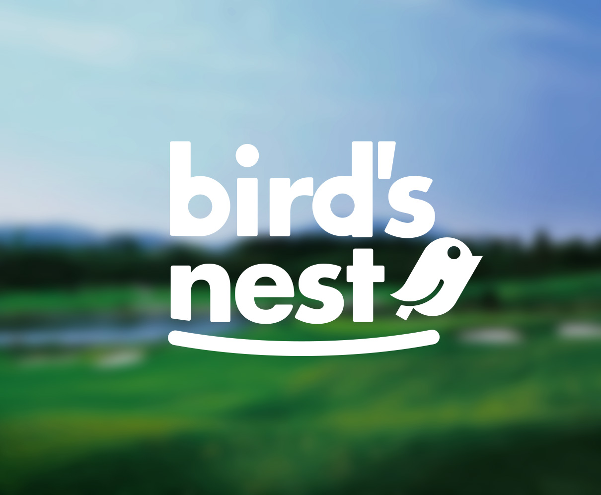 LOGO : Golf shop bird's nest