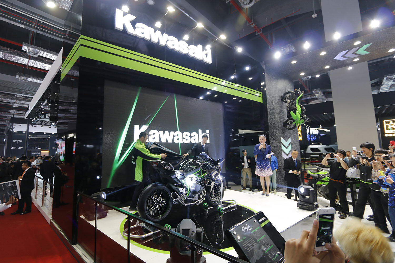 KAWASAKI PV for MOTOR SHOW